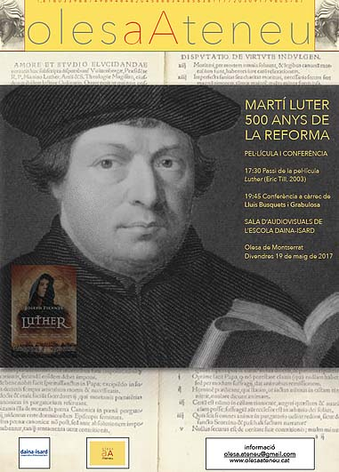 MART�� LUTER, 500 ANYS.